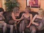 4 Girls im Catsuit