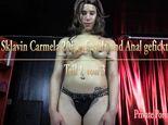 Sklavin Carmela 20j. gefesselt und Anal gefickt - Teil 1 von 3