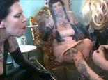 Rubberdomme Fetishplay Part 6 – 2 Smoking Latex Ladies